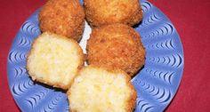 Sajtos rizsgombóc   APRÓSÉF.HU - receptek képekkel Russian Recipes, Cornbread, French Toast, Muffin, Goodies, Vegetables, Breakfast, Ethnic Recipes, Food