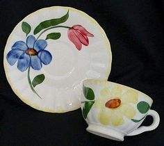 This was my Great Grandma's set of Blue Ridge dishes. Mom has them now and one day they will be in my china hutch. Love Blue, Blue Ridge, Dinnerware, Floral Design, Sweet Home, Porcelain, Pottery, China, Shapes