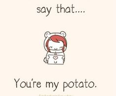 Baby Tato Kawaii Potato Pinterest Words, Babies and