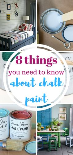 Things You Should Know About Using Chalk Paint  Chalk Paint Projects, Chalk Paint 101, Painting 101, Using Chalk Paint, DIY Tutorials, DIY tips and Tricks