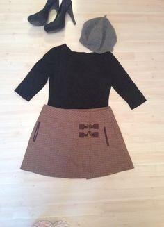 Zara, Mini Skirts, Turtle Neck, Sweaters, Fashion, Spinning Top, Reach In Closet, Fashion Women, Kleding