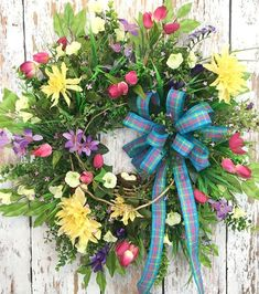 Spring Door Wreaths For Sale Artificial Wreaths For Outdoors