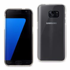 Reiko Samsung Galaxy S7 Edge Transparent Tpu Bumper Case Clear Gra