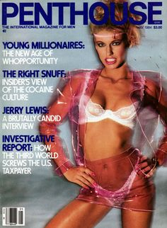 Penthouse May 1984 with Holly O.