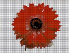 Costuras Stephany : Patrones de Flores /Cross Stitch Flowers Patterns