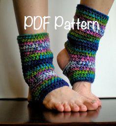 PATTERN Short Warmers Easy Crochet Dance Ballet Leg by swellamy, $4.99