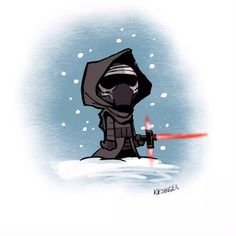 Quick doodle of LilKylo by BKart. #howtodraw #starwars #episodevii