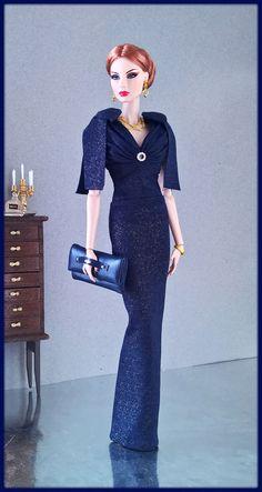 "OOAK Fashions for Silkstone 12"" Fashion Royalty Vintage Barbie Poppy Parker | eBay"