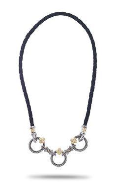 Three Circle Necklace - Diamond – Barbara Bixby