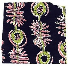Modernist Textiles   1950's & Henry Moore - AnotherDesignBlog.
