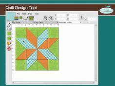 SOFTWARE DISEÑO QUILTS  Threadbias: Quilt Design Tool