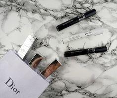 Dior Diorshow 'Maximizer 3D Triple Volume Plumping Lash Primer', #778 'Pro Mahogany' and #082 'Pro Anthracite' Mascara - Review and Comparison