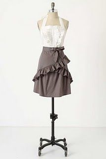 anthropologie apron - this looks amazing!!!