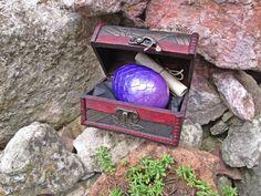 Dragon Egg L Size Starry Dragon Species purple dragon egg by DesignByWendyBgd #dragoneggs #dragons #fantasy #geek #geekdecor #fantasy art #fantasydecor #costume #costumeaccessories