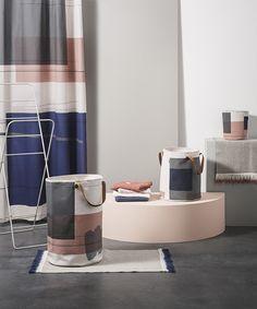 Color Block Shower Curtain design by Ferm Living