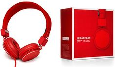 Fiery red for decent sound