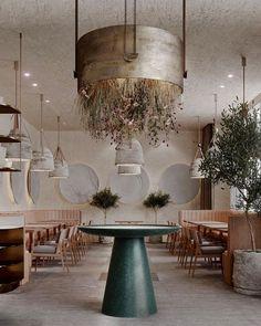 Home Interior Warm .Home Interior Warm Restaurant Layout, Design Bar Restaurant, Restaurant Hotel, Rustic Restaurant, Design Lab, Cafe Design, Restaurant Interior Design, Home Interior, Interior Architecture