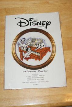 "Disney 101 Dalmatians ""Piano Time"" Cross Stitch Kit US $39.99 New in Crafts, Needlecrafts & Yarn, Cross Stitch & Hardanger"