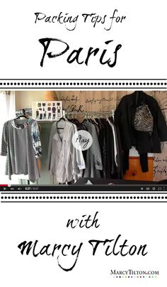 Join me on a journey through my studio and see what made the cut! Wardrobing, sewing, and packing strategies will narrow down the choices to be made when packing for Paris. The pieces I choose layer over and under one another. https://youtu.be/8QohE7W_veI