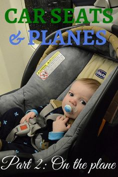Car Seats on Airplan