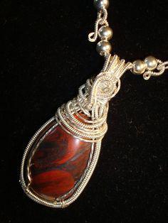Sterling Silver Gemstone Mary Ellen Jasper Necklace