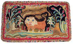 Peaceable Kingdom Yarn Sewn and Shirred Rug