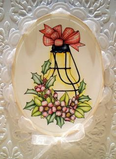 Beccy's Place: Christmas Lantern Cards