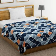 Shop comforters online from WoodenStreet#comforters #bedcomforters #comfortersonline #cottoncomforters #accomforters #summercomforters #bestcomforters Cool Comforters, Comforters Online, Wooden Street, Buy Bed, Cotton Bedding, Double Beds, Comforter Sets, Bed Sheets, Home Furnishings