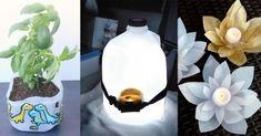 15 Useful Ideas To Upcycle Milk Jugs