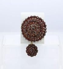 Victorian Bohemian Garnet Pin and Locket