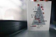 christmas card / transfor by gen design studio , via Behance