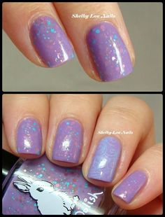 Shelby Lou Nails - Hump Day HARE - Cotton Candy Crush
