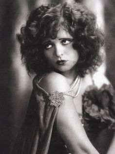 "Clara Gordon Bow  July 29, 1905 – September 27, 1965) was an American actress who rose to stardom in silent film during the 1920s. It was her appearance as a plucky shopgirl in the film It that brought her global fame and the nickname ""The It Girl"". Bow came to personify the Roaring Twenties and is described as its leading sex symbol."