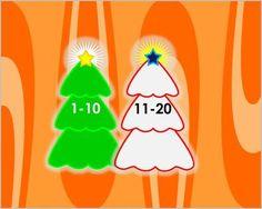 Στολίζω το δέντρο μετρώντας μέχρι το 20-Χριστουγεννιάτικο παιχνίδι μαθηματικών για την αρίθμηση μέχρι το 20. Καλούμαστε να στολίσουμε 2 δέντρα , από το 1-10 και από το 11-20 κάνοντας κλικ στους αριθμούς με τη σωστή σειρά . Μόλις μετρήσουμε σωστά , το αστέρι του δέντρου θα ανάψει Line Game, Teaching, Games, School, Gaming, Schools, Learning, Education, Game