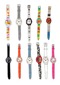 I have always had a weakness for Swatch watches...