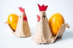 Eierbecher-Huhn