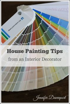 Interior Wall Paint Colors - Free help from an interior decorator! House Painting Tips, Diy Painting, Painting Furniture, Wall Paint Colors, Room Paint, Color Paints, House Paint Interior, Interior Paint Colors, Interior Design