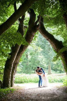 prachtige bruidsfoto buitenplaats amerongen bruidsfotograaf