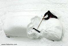 Dünyadan En İlginç Kar Fotoğrafları