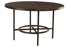 Ind. Ren. Dining Table, Straight