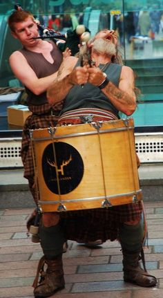 'crazy' drummer - Glasgow, Glasgow  I think this is Clan Wallace and they are awesome!