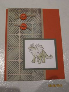 Dinos by Ambis - Cards and Paper Crafts at Splitcoaststampers