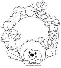 Výsledek obrázku pro podzimní výzdoba k vytisknutí Fall Coloring Pages, Coloring Pages For Kids, Coloring Sheets, Coloring Books, Autumn Crafts, Autumn Art, Fall Halloween, Halloween Crafts, Art For Kids