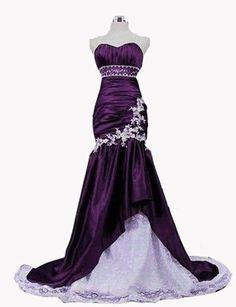 Faironly Custom Taffeta Lace Mermaid Trumpet Beach Bridal Gown Wedding Dress