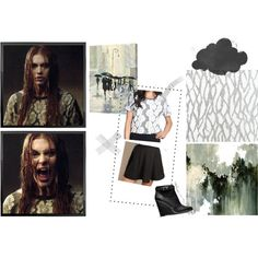 Lydia Martin 4x11 A Promise To The Dead Pt. 1 by saniday on Polyvore featuring mode, J.O.A., Brandy Melville, Coach, Zimmer + Rohde and Leftbank Art