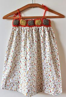: I like your shoes too :: robe granny pour sophie