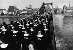 Abisag Tüllmann - Corpus Christi procession , Frankfurt, 1964