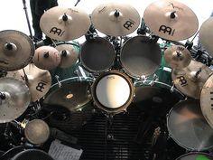 Chris Adler - Lamb of God, drum set