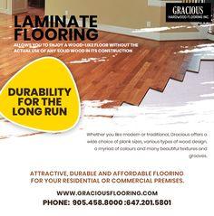Cheap Hardwood Floors, Laminate Hardwood Flooring, Wooden Flooring, Flooring Options, Traditional Looks, Beautiful Textures, Wood Planks, Type Design, How To Run Longer