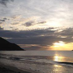 atardecer en Playa zaragoza Isla de Margarita Venezuela